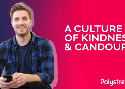 'A Culture of Kindness & Candour' – An Interview with Polystream's Head of Talent, Simon Sparks, for Mental Health Awareness Week