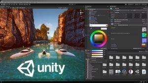 screenshot of Unity Editor on desktop