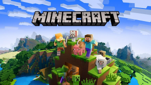 Picture of Minecraft video game box art